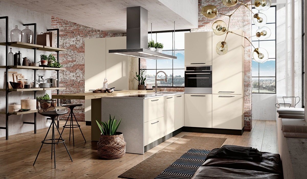 Produzione cucine componibili moderne imab group for Immagini cucine