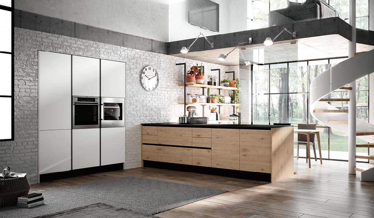Produzione cucine componibili moderne imab group - Cucine componibili moderne prezzi ...