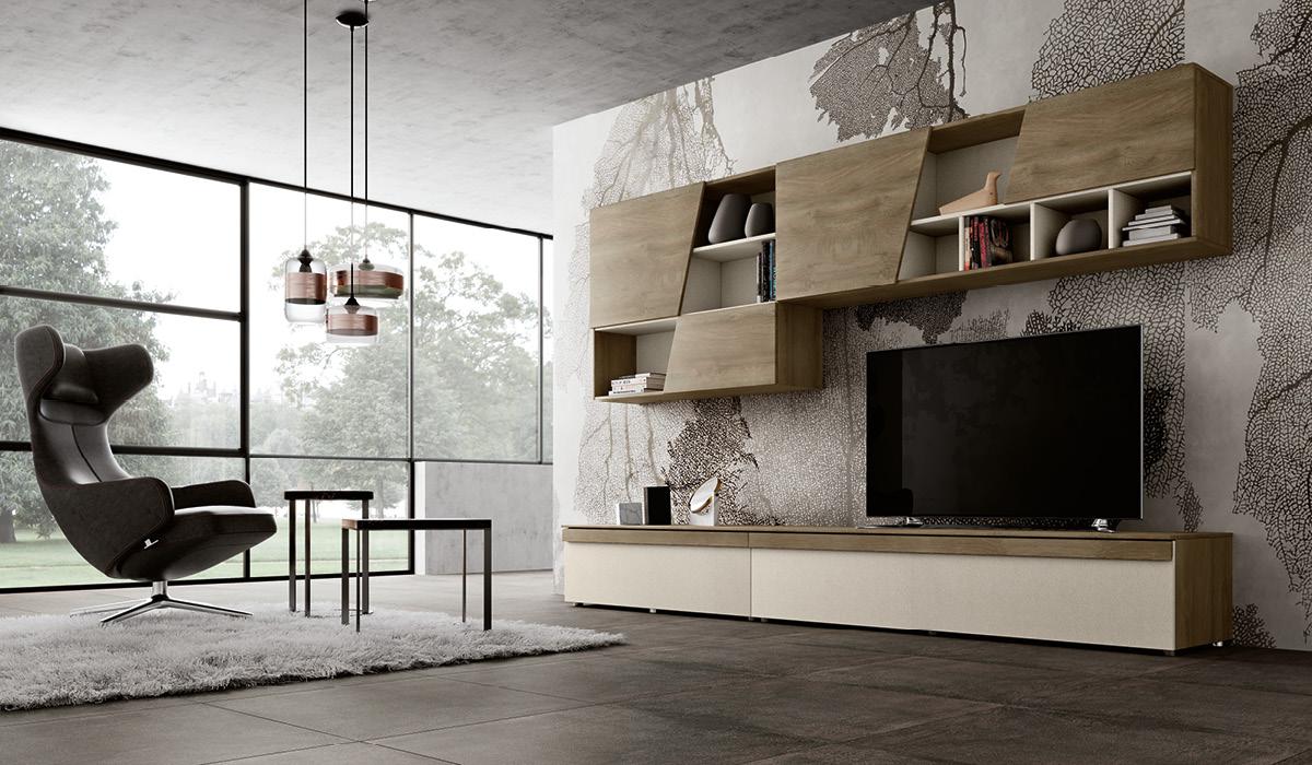 Produzione mobili living componibili imab group for Mobili giorno